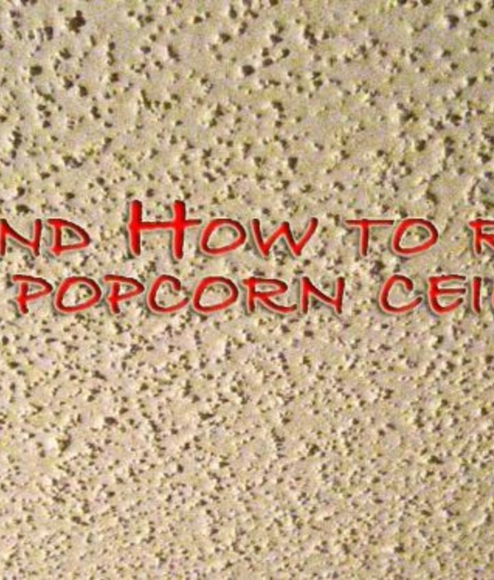 Popcorn ceilings were the standard for bedroom and residential hallway ceilings for its bright, white appearance, noise reduction qualities and ability to hide imperfections