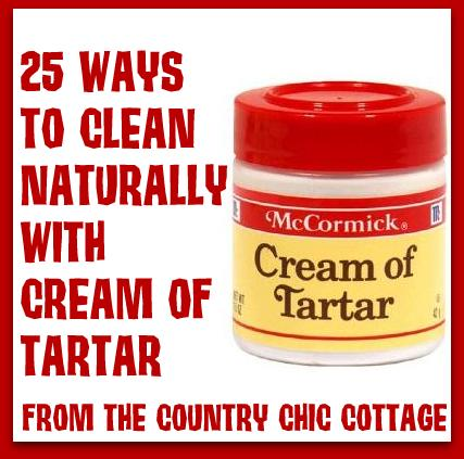 did you know cream of tartar is a great natural cleaner, cleaning tips, Come read all the ways