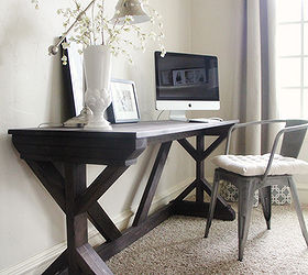 Diy Farmhouse Desk For My Bedroom Hometalkrhhometalk: Desk For Bedroom At Home Improvement Advice