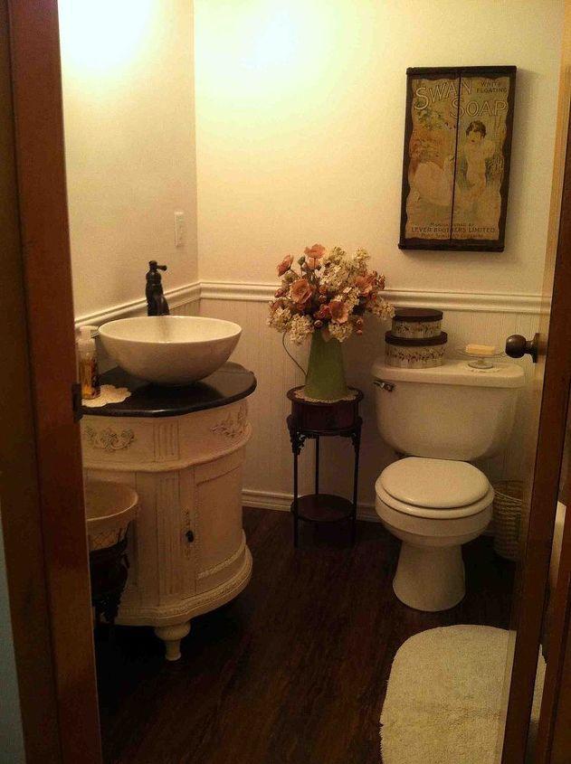 Small Vintage Bathroom Hometalk