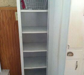 Old Metal Cabinet Turned Into Pantry | Hometalk