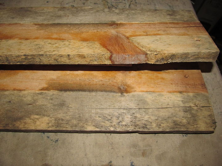 q help beauty in pallet wood 2 what to do, It is so cool how the branch extends through the other wood