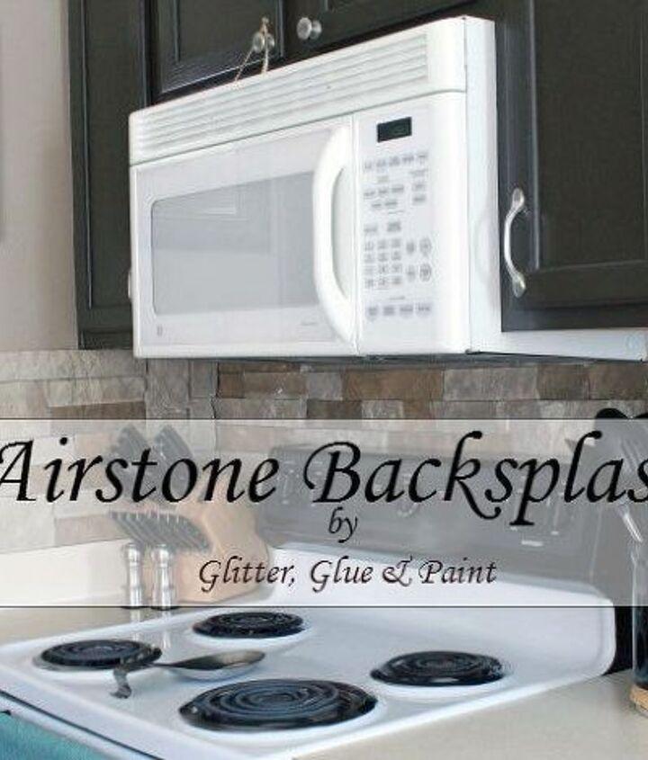 airstone backsplash, kitchen backsplash, kitchen design, tiling