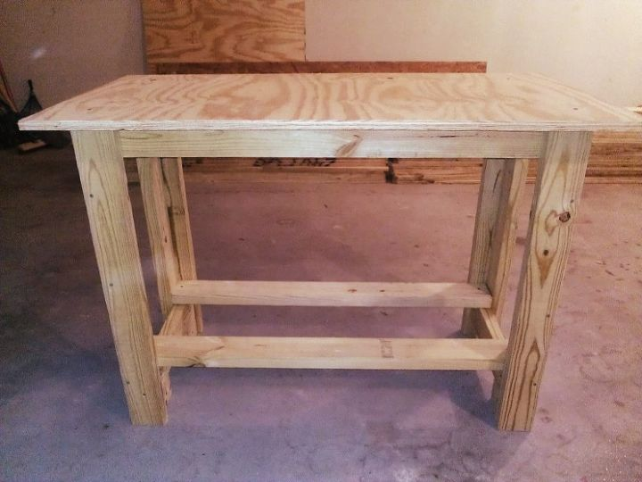 diy work bench, diy, painted furniture, woodworking projects