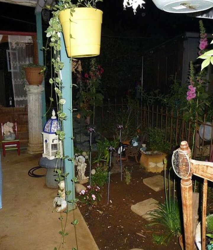 The chick cave at night