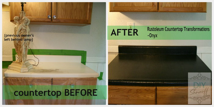 Rustoleum Countertop Transformations Review Countertops Before Laminate Was Scratched And Stained