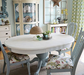 How To Recover A Dining Room Chair, Painted Furniture, How To Recover A  Dining