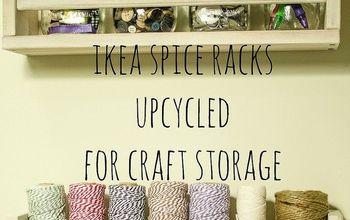 IKEA Spice Racks for Craft Storage