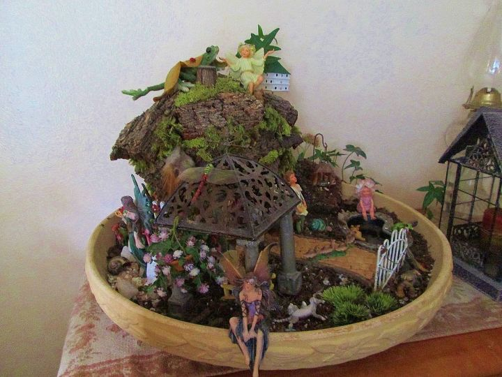 fairy gardens, gardening