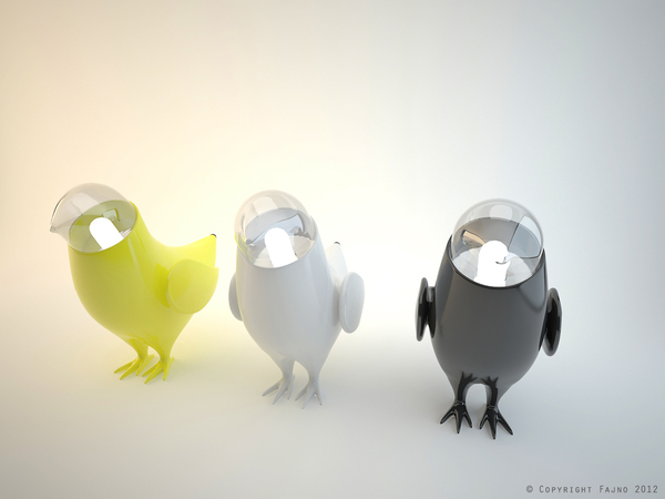 marina s birds a collection of ceiling and tabletop lamps in the form of birds from, home decor, lighting