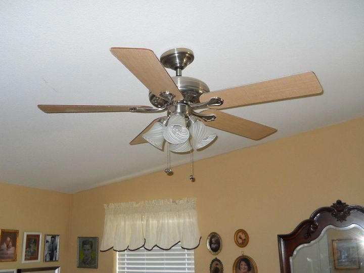 q ceiling fan that wobbles and makes noise, home maintenance repairs
