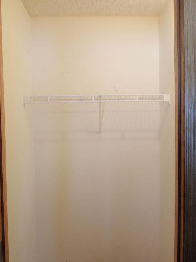 simple closet coat closet made into a simple walkin pantry hometalk