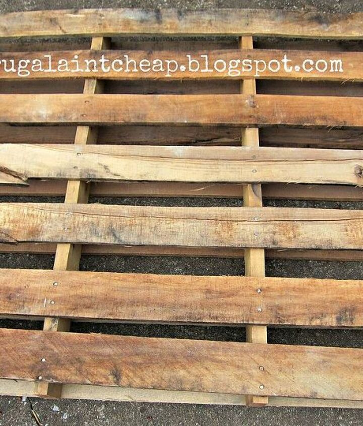 how to take a pallet apart, pallet