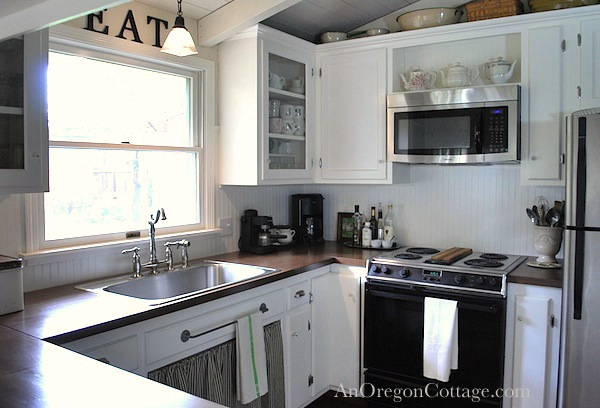 DIY Kitchen Remodel: 80s Ranch to Farmhouse Fresh | Hometalk
