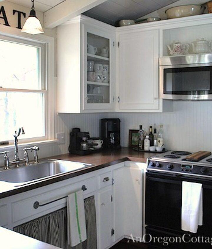 diy kitchen remodel 80s ranch to farmhouse fresh, home decor, kitchen backsplash, kitchen design