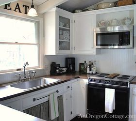 Bon Diy Kitchen Remodel 80s Ranch To Farmhouse Fresh, Home Decor, Kitchen  Backsplash, Kitchen