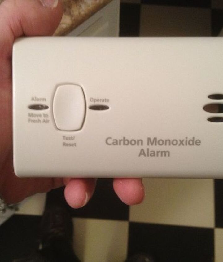 Test your carbon monoxide detector