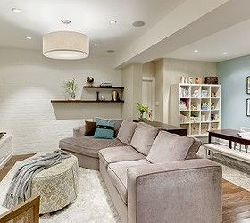how to finally turn your unfinished basement into a real living space basement ideas & How to Finally Turn Your Unfinished Basement Into a Real Living ...