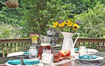 summertime entertaining made easy, outdoor living