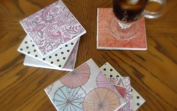 DIY Tile Coasters - Easy and Cheap!