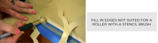 Fill in non-reachable edges with a stencil brush