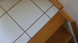 q i have a white tile on my kitchen floor will a garage floor finish work to cover it, flooring, garages, tile flooring