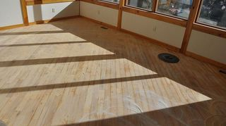 what is an inexpensive diy way to refinish old hardwood floors, flooring, hardwood floors, a good start a lot more to go though