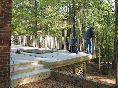 q what do you think is the most important thing to remember when installing a deck, decks