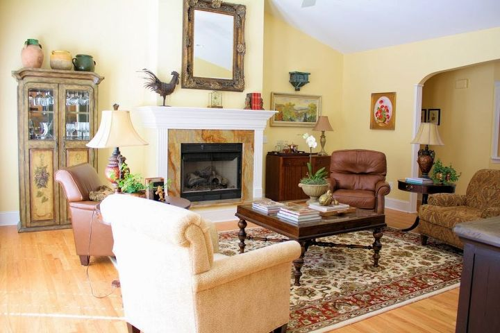 pulling it all together the comforts of home, home decor, living room ideas