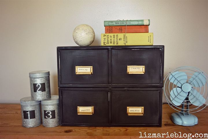 how to spray paint video amp diy apothecary drawers, painting, storage ideas