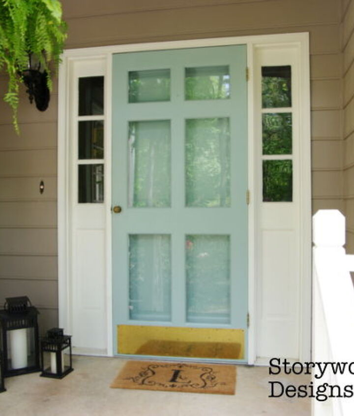 finishing what i started painting my entry doors, curb appeal, doors, painting