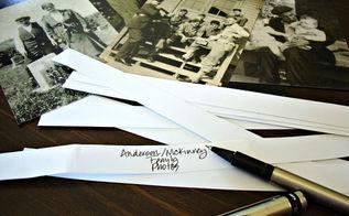 organizing printed photos, crafts, organizing