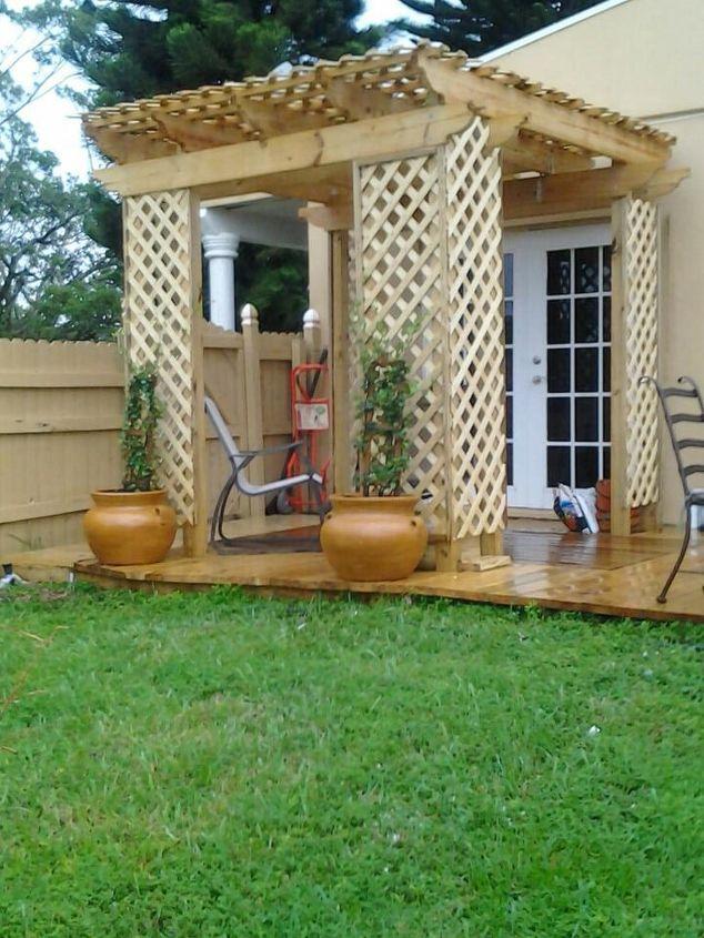 trellis, curb appeal, decks, outdoor living