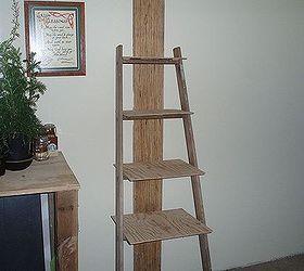 Old Ladder New Bathroom Shelves, Bathroom Ideas, Repurposing Upcycling,  Shelving Ideas, Ladder