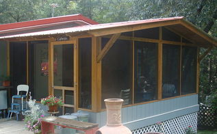 screen porch in phases, diy, outdoor furniture, porches, woodworking projects