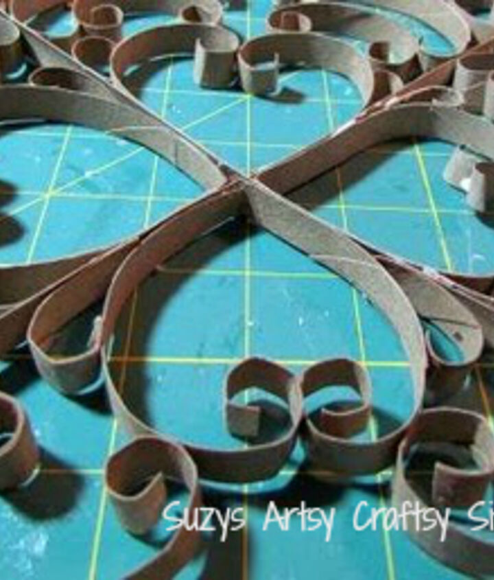 faux metal wall art, crafts, home decor