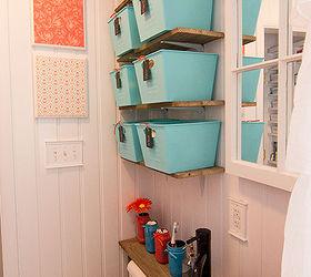 Make Your Small Bathroom Look Bigger Install Beadboard Paneling, Bathroom  Ideas, Home Decor,