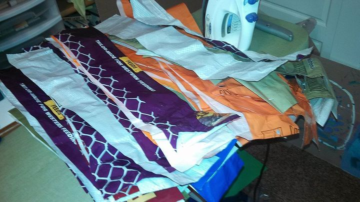 Up Cycled Chicken Feed Bags Hometalk