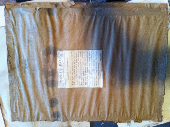 q how do you get mold off paper estate sale steal, cleaning tips