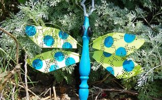 smaller cousin to the ceiling fan blade dragonflies bugs from chair legs and fly, repurposing upcycling
