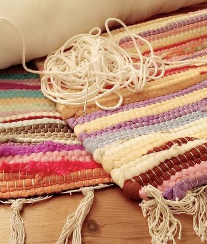 simply sew together 2 floor rugs....use some hard wearing string....
