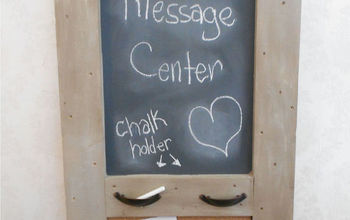 upcycled crate lid message center, diy, how to, repurposing upcycling, woodworking projects, what a great addition to the entryway
