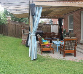 Diy Outdoor Patio Curtains, Outdoor Living, Patio, Reupholster, Window  Treatments ...