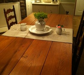 Making A Farmhouse Table, Painted Furniture, Repurposing Upcycling,  Woodworking Projects, Reclaimed Heart