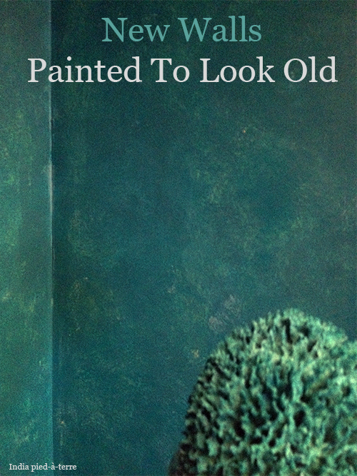 How To Paint New Walls Look Old Colors Painting Wall Decor