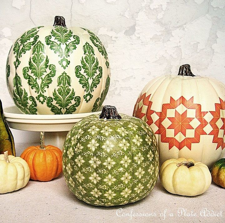 Love the way they turned out! And they are so pretty they can stay out until Thanksgiving!