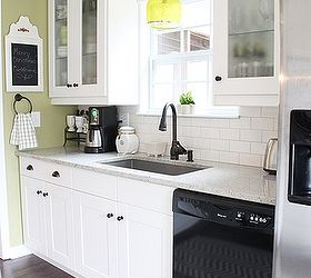 My Cottagey Ikea Kitchen, Home Decor, Kitchen Design, Kitchen Island,  Shelving Ideas. Adel White Shaker Cabinets ...