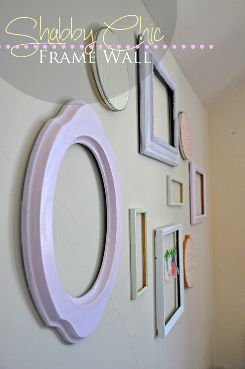 Simply paint and hang your frames