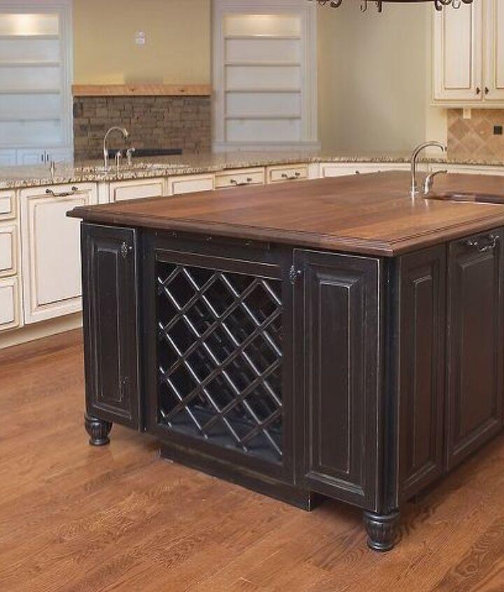 Kitchen wine storage (also custom built-ins) - AK