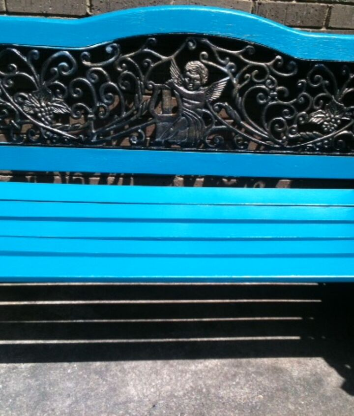 Refinished Bench Picture 1